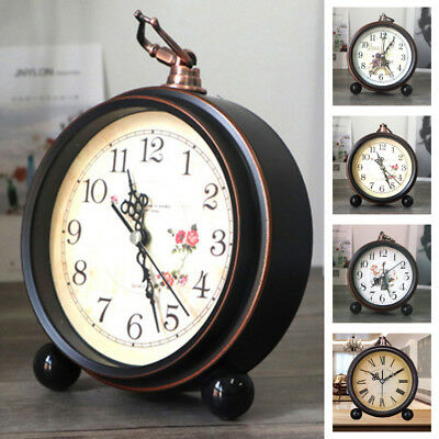 Alarm Clock Europe Design Desk Table Clock Retro Clock Vintage Style Alarm Clock