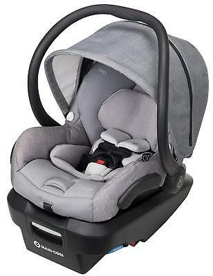 Maxi-Cosi Mico Max Plus Air Protect Infant Baby Car Seat w/ Base Nomad Grey NEW