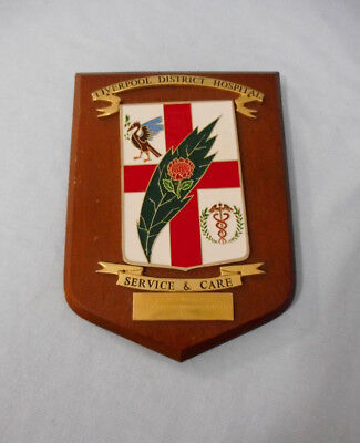 #Ff3.  1972  Liverpool Green Valley District Hospital Plaque