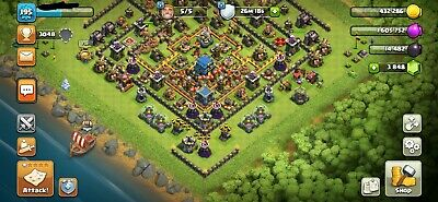 clash of clans th 12 account rathaus 12 townhall 12. Black Bedroom Furniture Sets. Home Design Ideas