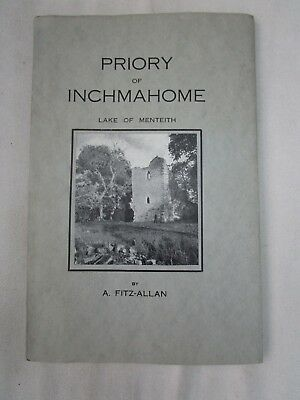 Vintage Guide To Priory Of Inchmahome, Lake Of Menteith, Scotland