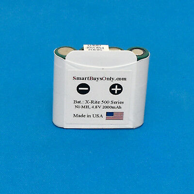 X-rite New NiMH Battery Pack for XRite 500 504 508 518 520 528 530 made in USA