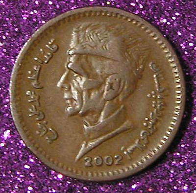 1-Coin from  Pakistan.  1-Rupee.  2002.