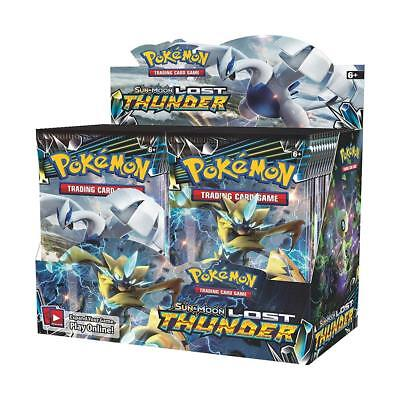 Lot de 36 Cartes Pokemon Boite de Boosters TCG Edition Anglaise