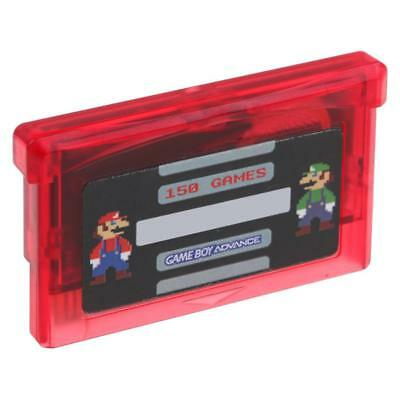 High Quality GBA NES 150 In 1 Game Card Game Boy Advance SP With Protective-Case