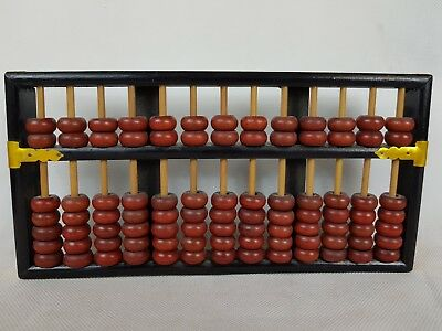 Lotus Flower Brand Abacus Made in China 13 Rods 91 Beads