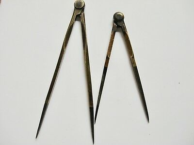 Vintage Brass and Iron Compass/Divider