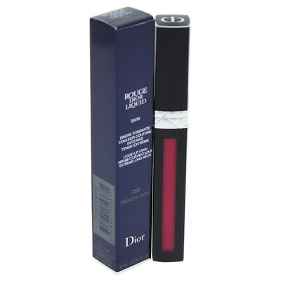 Rouge Dior Liquid Lip Stain -# 788 Frenetic Satin by Christian Dior Women- 0.2oz