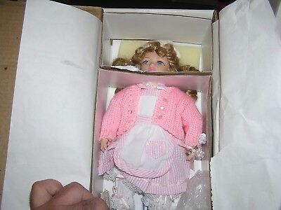 Marie Osmond Fine Porcelain Doll 'Marta' Miracle Children Series - Candy Striper
