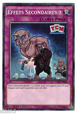 """Yu-Gi-Oh - """"Effet Secondaires ?"""" CORE-FR080"""
