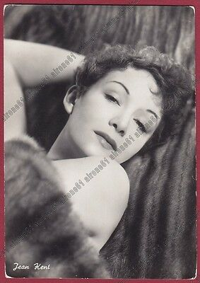 JEAN KENT 01a ATTRICE ACTRESS ACTRICE CINEMA MOVIE STAR UK Cartolina FOTOGRAFICA