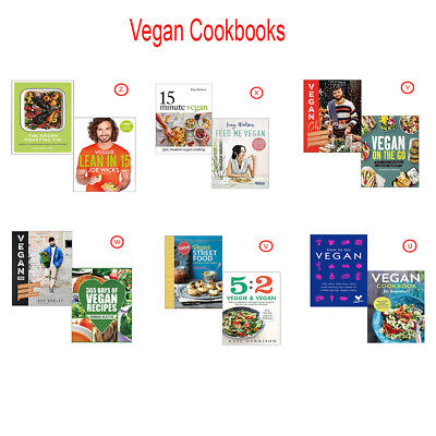 Vegan Cookbooks Collections Veggie Lean in 15 and Feed Me Vegan and 15 Minute