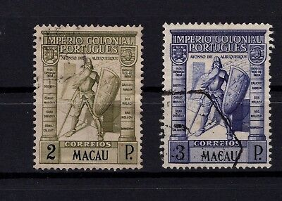 P95459 / Macao / Sg # 379 - 380 Obliteres / Used 129 €