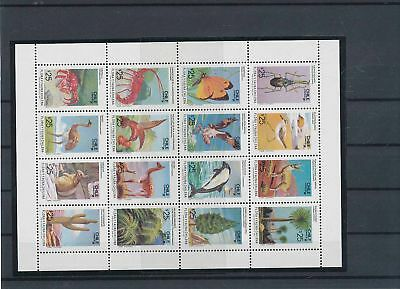 11953 / Fauna ** MNH Block Chile Hase Vogel