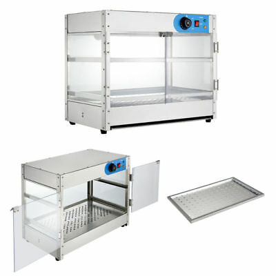 Commercial 2-Tier Electric Counter Top Display Cabinet /pie Warmer /food Warmer