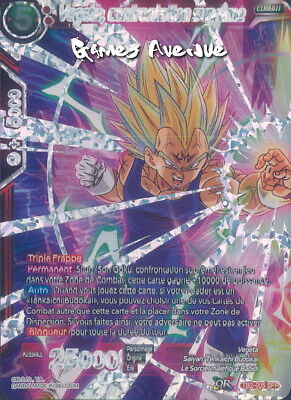 Dragon Ball Super Card Game ! Vegeta, Confrontation Supreme TB2-005 SPR/VF
