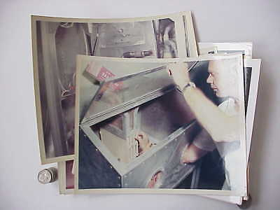 (AMRL-WP) Wright Patterson AFB Photo lot of 12 Technical Details & Equipment