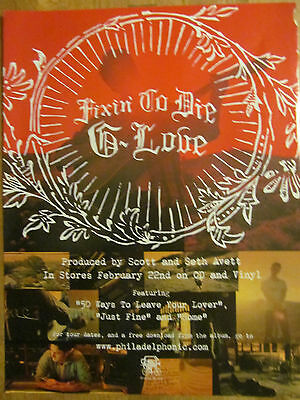 G. Love, Fixin' To Die, Full Page Promotional Ad