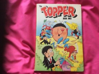 The Topper Book - Annual - 1982 - Hardback Book clipped , No writing