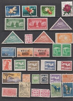Very Useful China used and mint selection