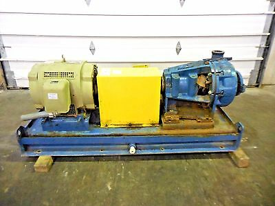 "RX-3642, METSO HM100 LHC-D 4"" x 3"" SLURRY PUMP W/ 40HP MOTOR AND FRAME"
