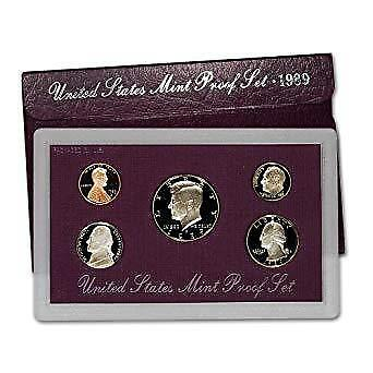 1989-S U.S.Proof set. complete and original as issued by US Mint.