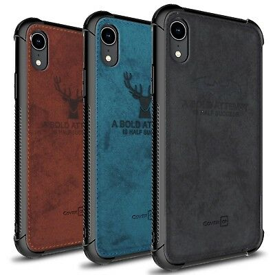 CoverON Woven Series Apple iPhone XR / 10R Case Protective Phone Cover