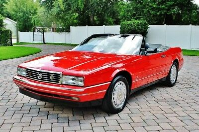 1992 Cadillac Allante Convertible 1 Owner 1992 Cadillac Allante Convertible with Hard and Soft Top Low Miles