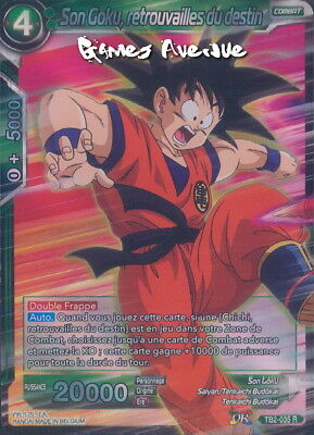 Dragon Ball Super Card Game ! Son Goku, Retrouvailles du Destin TB2-035 VF/RARE