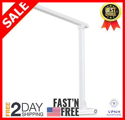 LEC315 - Dimmable LED Desk Lamp with USB Port - Office Work Light