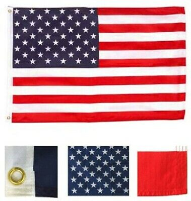 4x6 FT USA American Flag United States Polyester Banner US Pennant New Old Glory