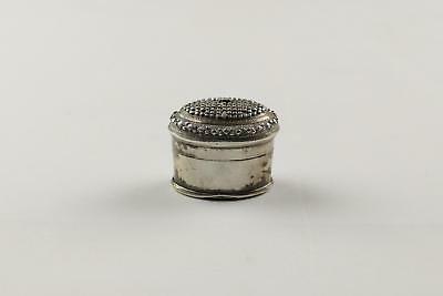 Fine Antique 19thC SE Asian Malay Peninsular Silver Oval Betel Nut Lime Box#5