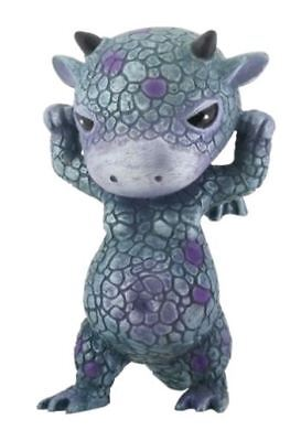 Mythical Blue and Purple Baby Ornery Dragon Fantasy Figurine
