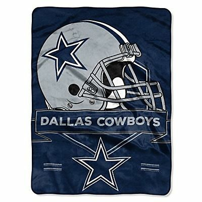 NFL Dallas Cowboys Blanket Fleece Throw Large Football Fan Sport 60 x 80 Inches