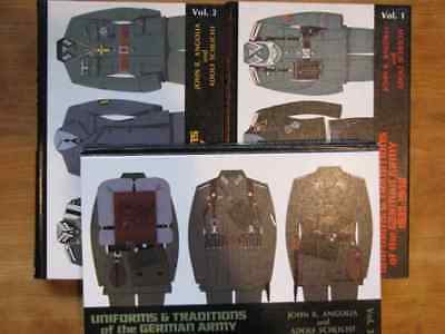 Reference book set, Uniforms and Traditions of the German Army 1933-45, Angolia