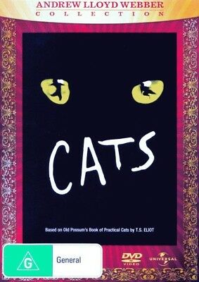 Cats (Andrew Lloyd Webber Collection) = NEW DVD R4