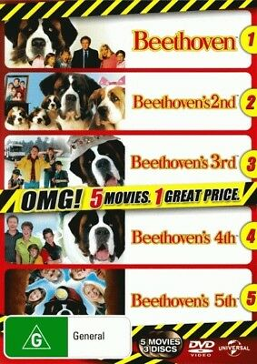 Beethoven/2nd/3rd/4th/5th NEW DVD R4