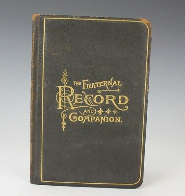 The Photographic Fraternal Record Companion for Members of Secret Societies LZO