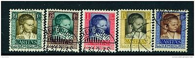 LUXEMBOURG - 1930 Child Welfare Set Used as Scan