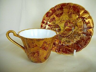 Vintage Bone China Cup & Saucer ~ Royal Stafford - ' Tapestry ' Pattern -Lovely