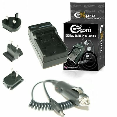 Ex-Pro® Travel Battery Charger for Canon LP-E5, EOS 450D, 500D