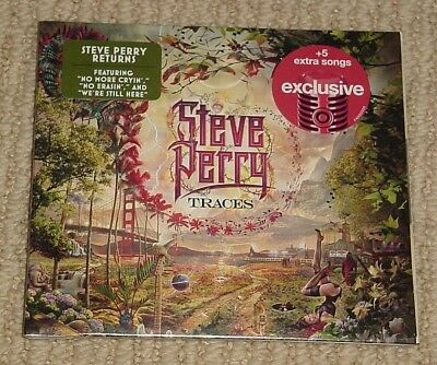 New Steve Perry Traces Cd Target Exclusive +5 Bonus Songs Journey Free Shipping