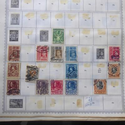 Worldwide Mint & Used Stamps on 74 Old Album Pages (63) - No Reserve!