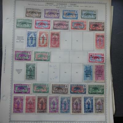 Worldwide Mint & Used Stamps on 53 Old Album Pages (64) - No Reserve!