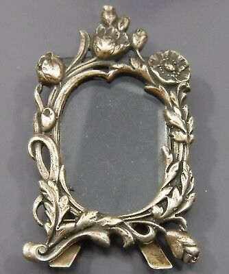 Small Vintage Sterling Silver Picture Frame with Stand London Hallmark 1981