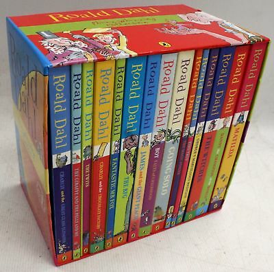 ROALD DAHL Phizz-Whizzing Collection 15 Book Box Set - W26