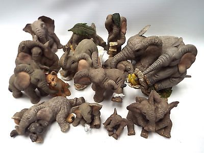 13 x TUSKERS Elephant Ornaments Collection - U03