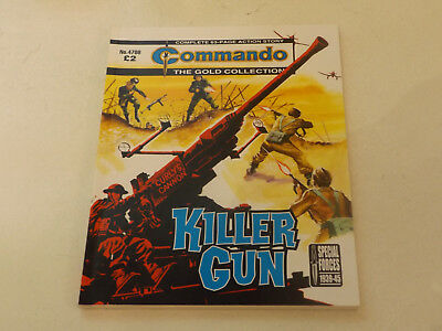 Commando War Comic Number 4708,2014 Issue,v Good For Age,04 Years Old,very Rare.