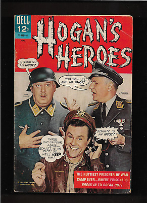 1966 1st  ISSUE HOGAN'S HEROES  TV DELL #1 COMIC BOOK  ORIGINAL &  COMPLETE