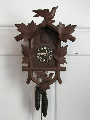 Vintage German Black Forest Hubert Herr Cuckoo Clock